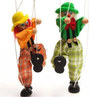 Play string puppet toy