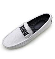 Men's lazy shoes leather