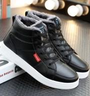 Add fleece to keep warm gaobang board shoes