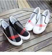 Women's high-top canvas shoes