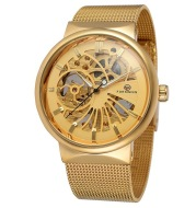 Hollow mechanical watch