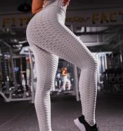Leggings Women Gym High Waist Push Up Yoga Pants Jacquard Fitness Legging Running Trousers Woman Tight Sport Pants