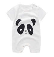 Baby one-piece clothes summer cotton