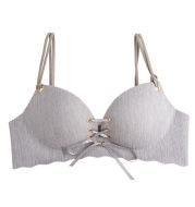 Front drawstring smooth seamless girl underwear