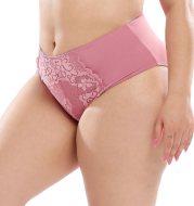 Plus-size women's underwear sexy lace high waist briefs fat