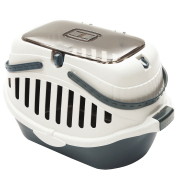 Portable small pet carrying basket