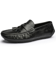 Men's Peas shoes Korean version of the trend of hollow casual shoes