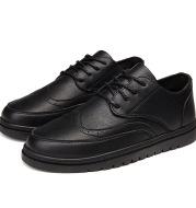 Men's British leather shoes