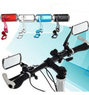 Bicycle handlebar rearview mirror