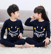 Children's pajamas women's long sleeves
