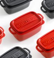 Food storage box plastic compartment lunch box