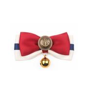Pet collar plaid bow ornament