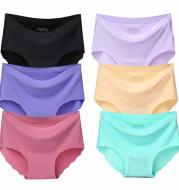 One-piece seamless underwear