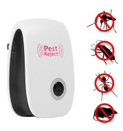 Ultrasonic Pest Repeller Electronic Rejector Mosquito Rat Mouse Repeller-UK/EU/US Plug