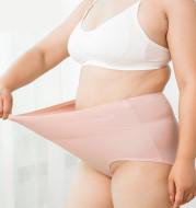 Oversized ladies high waist panties