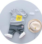 Little boy summer suit
