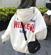 Plus velvet thick ins Hong Kong style jacket