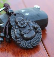 Ebony key chain