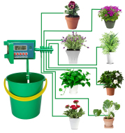Automatic Micro Home Drip Irrigation Watering Kits System Sprinkler with Smart Controller for Garden