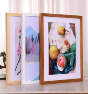 Personalize Framed Poster Canvas