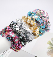 Candy-colored hair band