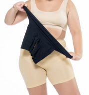 High waist shaping safety pants