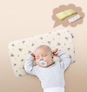 Memory foam baby shaped pillow