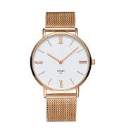 Mesh belt bracelet watch