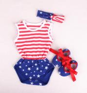 Baby lace waist set