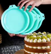 Silicone chiffon cake molds
