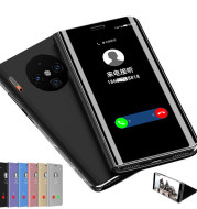 Mirror leather case protector