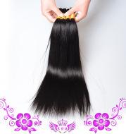 Real hair hair piece