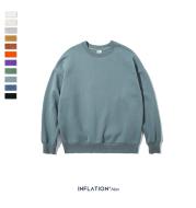 Pure color wild cotton sweater