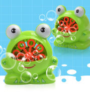 New Cute Cartoon Animals Shape Creative Frog Automatic Bubble Machine Gun