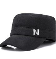 Flat top men's cap