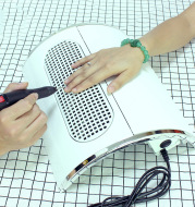 High-power three-fan desktop nail dryer