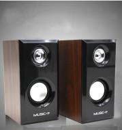 Solid wood speaker