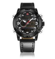 Dual display luminous electronic watch waterproof sports watch men