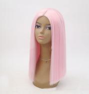 Women's Bobo headwear pink split short hair set