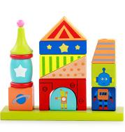 Children's intellectual building block toys