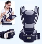 Ergonomic Baby Carrier Infant Baby Hipseat Carrier 3 In 1 Front Facing Ergonomic Kangaroo Baby Wrap Sling
