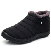 Non-slip thickened warm snow boots