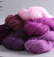 Wool thread hand-woven fine velvet thread