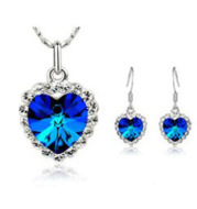 Ocean Star Necklace and Earring Set