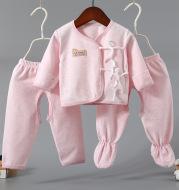 Baby three-piece cotton underwear set