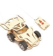 Remote control four-wheel race car