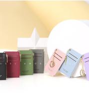 Cute personality Mini slim card cover simple zero wallet