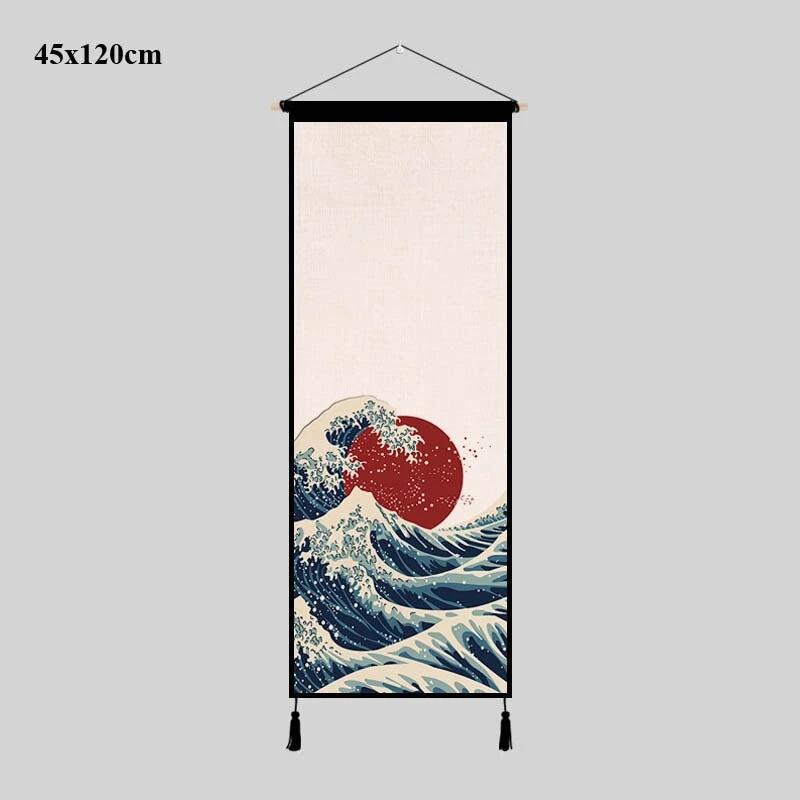 Foto tapiz de pared estilo Japonés tamaño grande