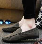 Korean trend men's casual shoes lazy one pedal