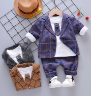 Boys spring and autumn suits